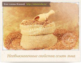 Миниатюра к статье Самые полезные свойства семян льна, о которых вы даже не могли догадываться )