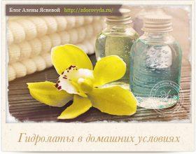 Миниатюра к статье Как сделать гидролат в домашних условиях или целебные свойства цветочной воды