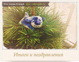Миниатюра к статье Итоги уходящего года и поздравления с Новым годом!