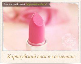 Миниатюра к статье Карнаубский воск— секретный ингредиент качественной косметики