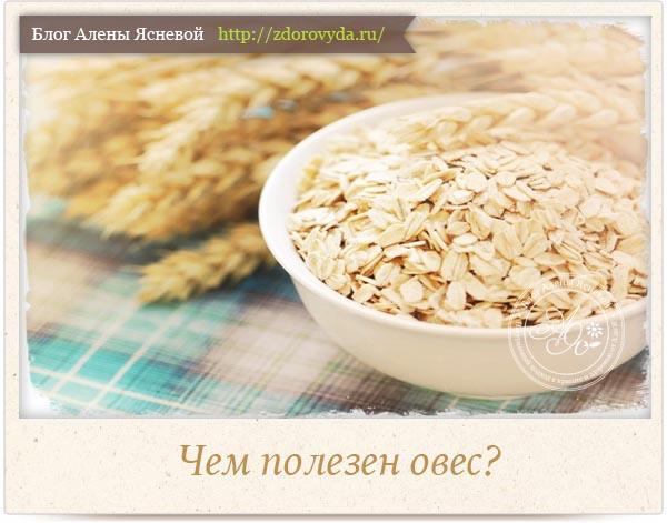 Рецепт овес для иммунитета