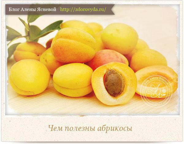 Полезные свойства абрикосов