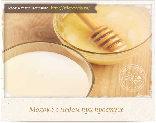 Молоко и мед при простуде помогает thumbnail