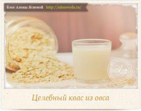 Миниатюра к статье Квас из овса— полезный напиток для красоты и здоровья
