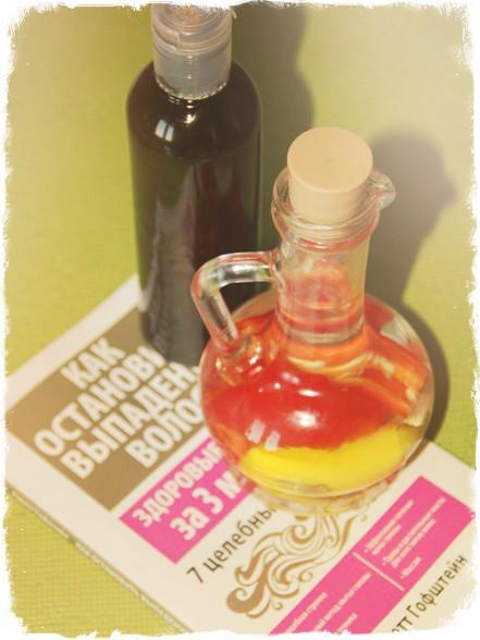Перцовая настойка и масло для волос